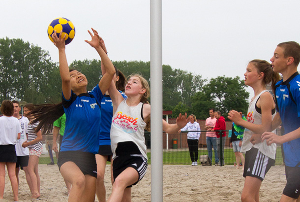 Beach center korfbal
